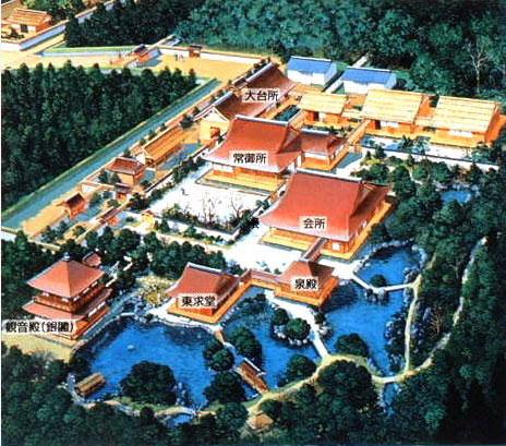 銀閣寺想像図
