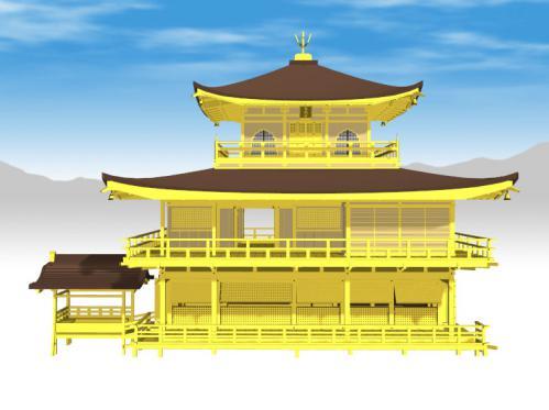 金閣寺(3D)