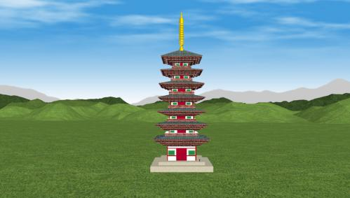 相国寺七重塔