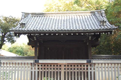 京都御苑の桂御所門