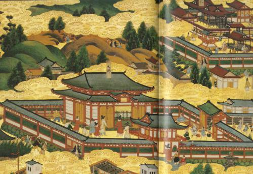 方広寺大仏殿絵図