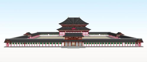 方広寺大仏殿正面全体図2