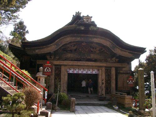豊国廟極楽門の遺構