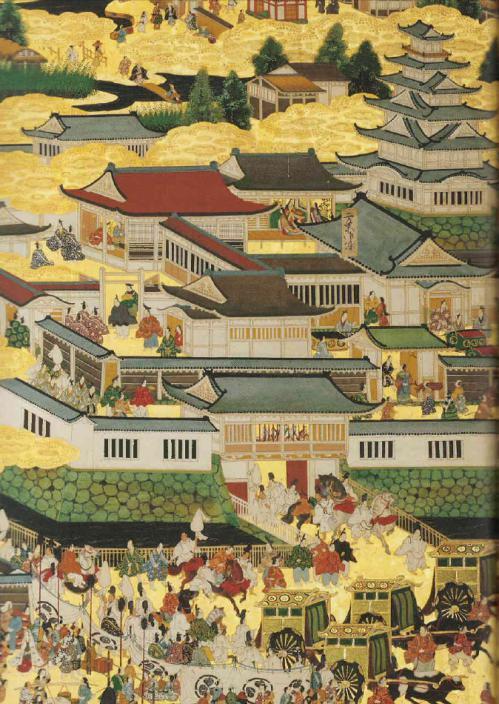 徳川和子入内時二条城