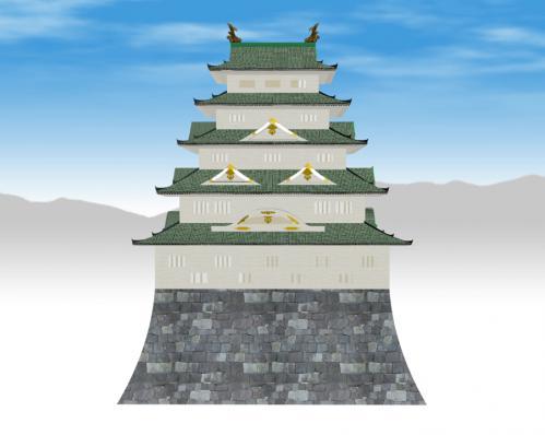二条城天守閣(銅屋根)