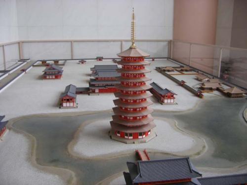 法勝寺模型