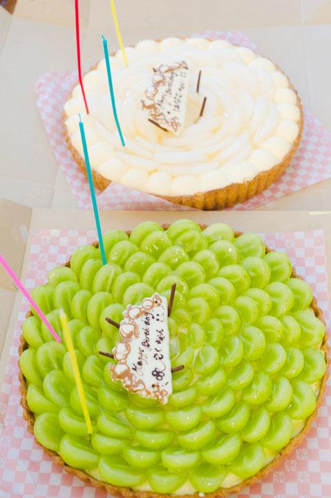 キルフェボンのケーキ/シャインマスカット&和梨