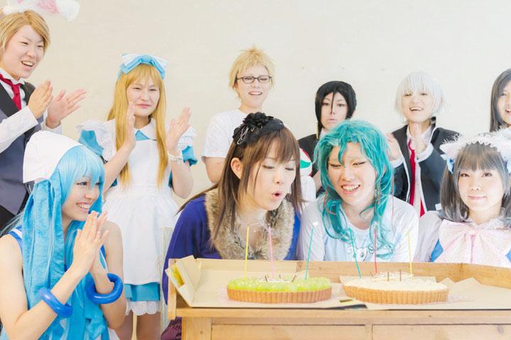 2014誕生日撮影会集合