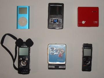 携帯機種々