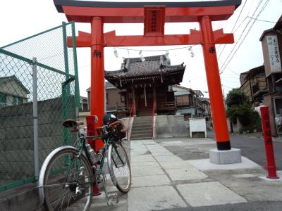 多摩川神社詣で