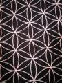 神聖幾何学模様和布