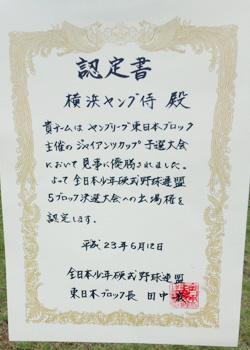 pregiantscup_eastnippon_certificate