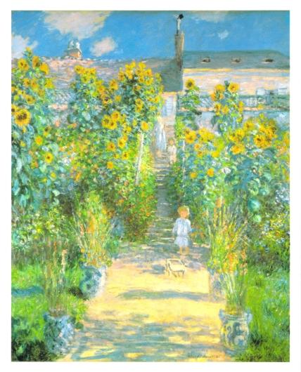 ヴェトゥイユの画家の庭