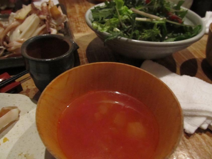 サラダトマトスープ