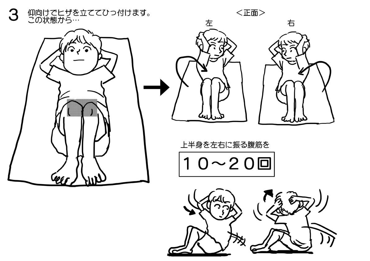 リーマン体操3