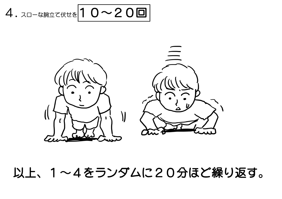 リーマン体操4