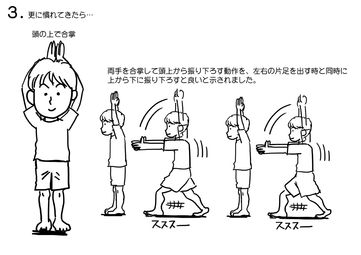 リーマン祓いの体操3