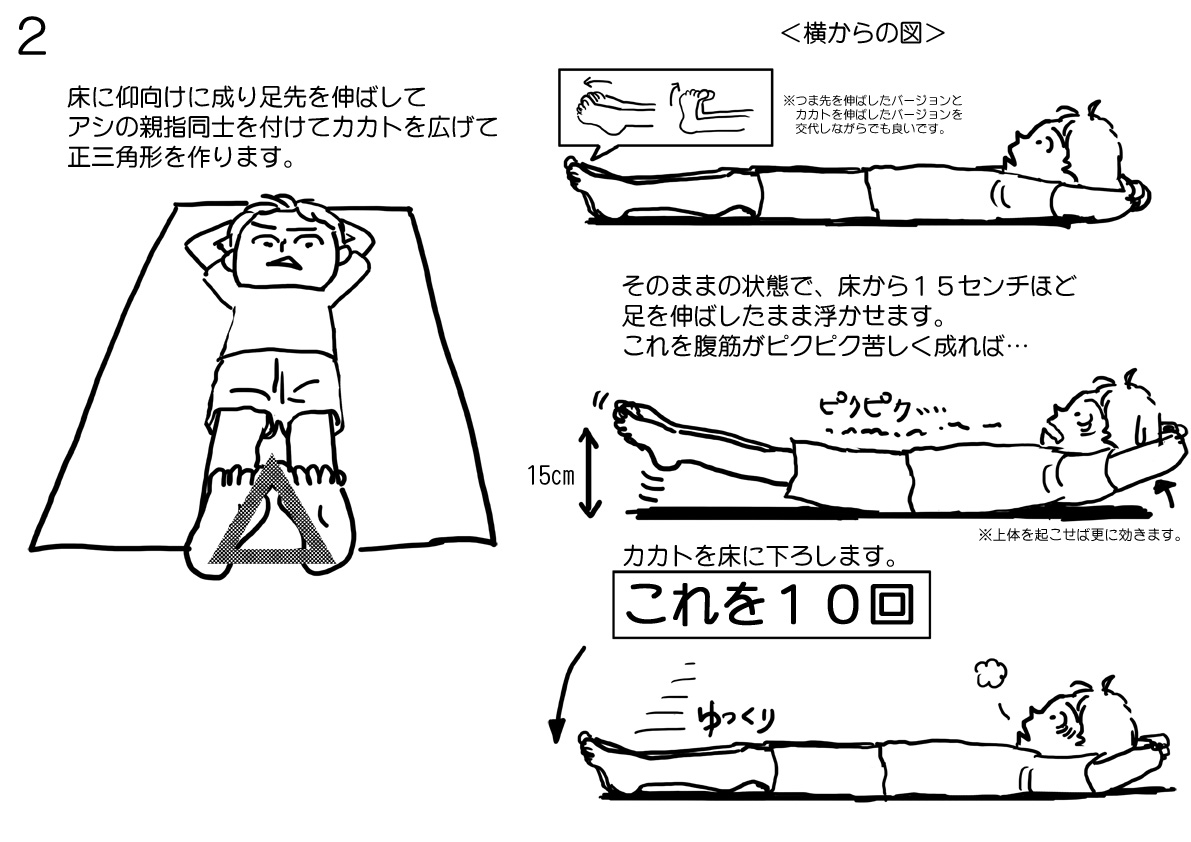リーマン体操2