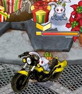 うさぎバイク