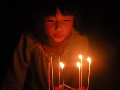 7歳誕生日2