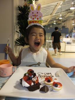 三歳お誕生会2