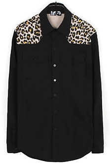 leopard mix shirts