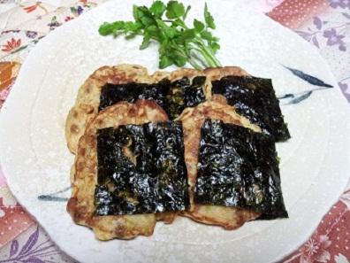 納豆の韓国風味焼き