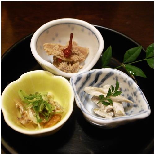 弥太郎セット前菜