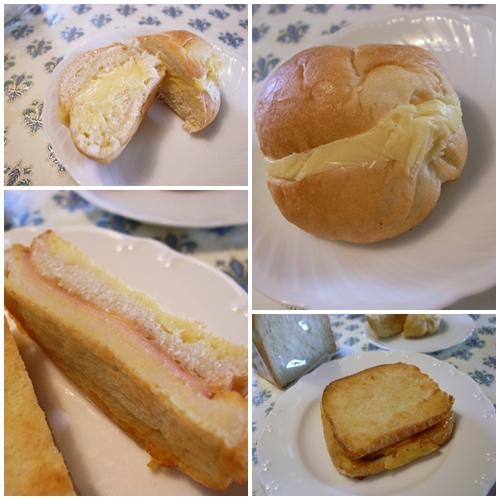 ハニーのパン3種