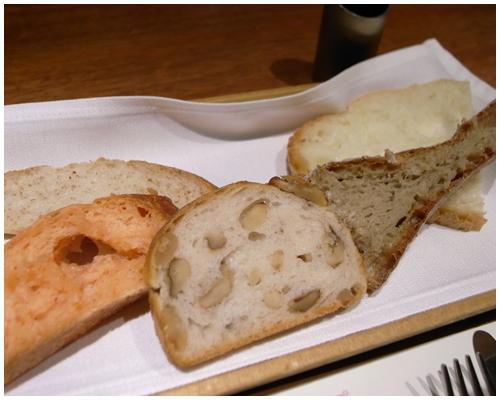パン数種類