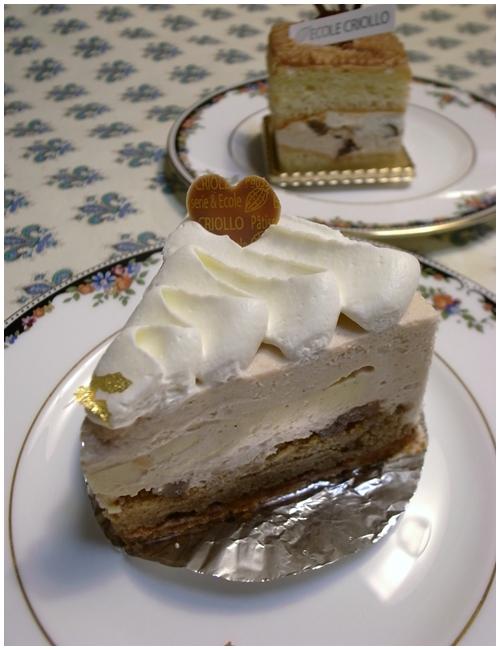 マロンのケーキ1