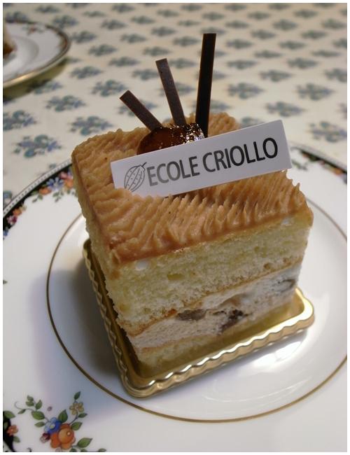 マロンのケーキ
