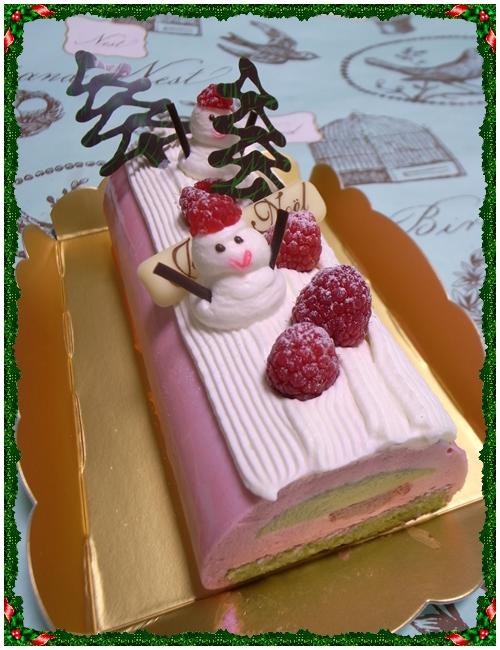クリオロ2010年クリスマスケーキ