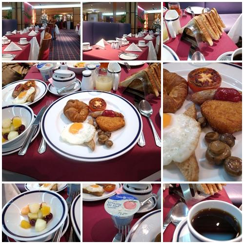 ブラックネル朝食