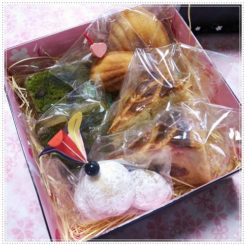 焼き菓子2段目