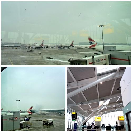 空港最終日