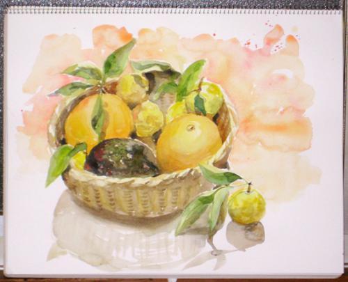 柚子と八朔
