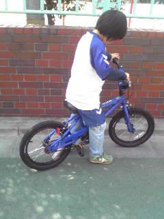 my自転車。