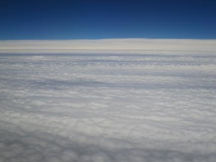 雲の絨毯という表現が相応しいな(20140908)