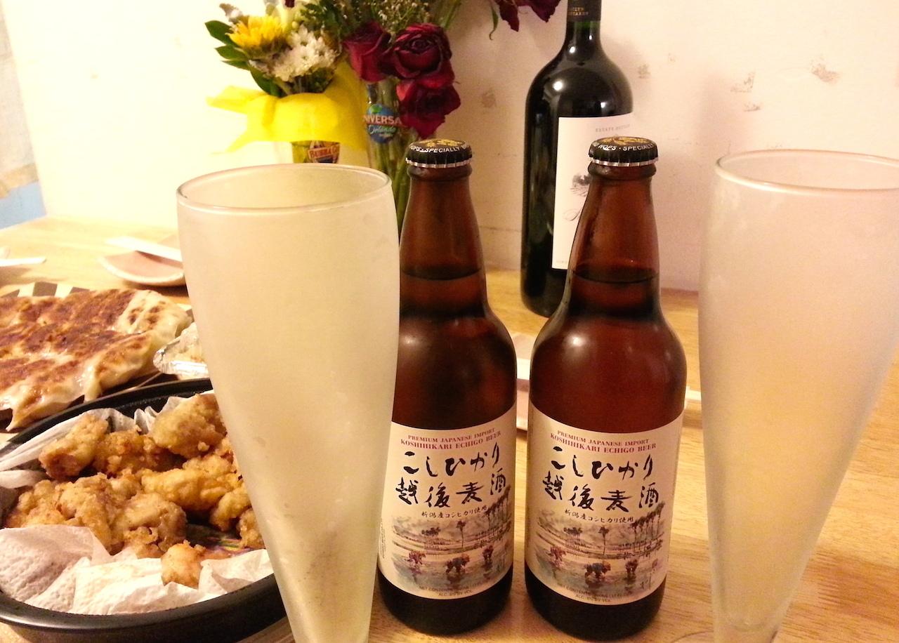 Koshihikari beerglass