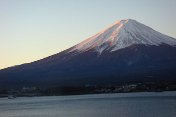 2011_0117富士の朝焼け