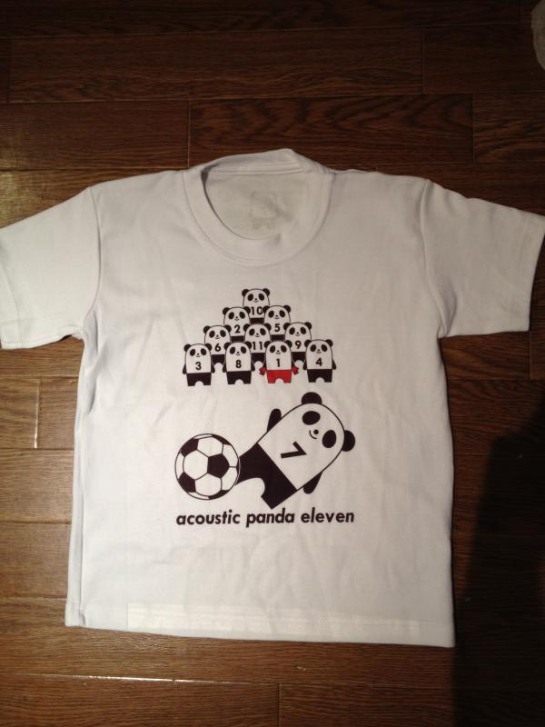 パンダイレブンTシャツ1