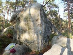 Excalibur 7a+ Franchard Cuisiniere sud Fontainebleau