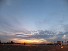 雲の質が違う