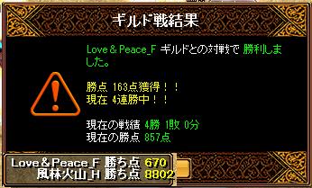 2013-03-10-vsLove&Peace_F-Gv結果