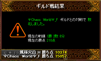 2013-03-28-vsΨChaos WorldΨ_F-Gv結果