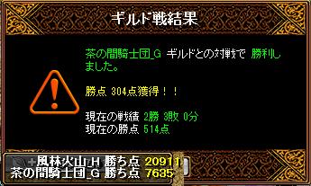 2013-04-02-vs茶の間騎士団_G-Gv結果