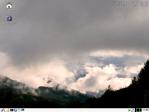 knoppix6.2日本語版デスクトップ画面