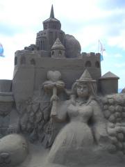 千里浜砂像2011 001