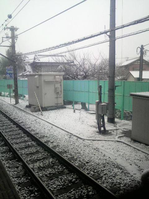 駅のホームから